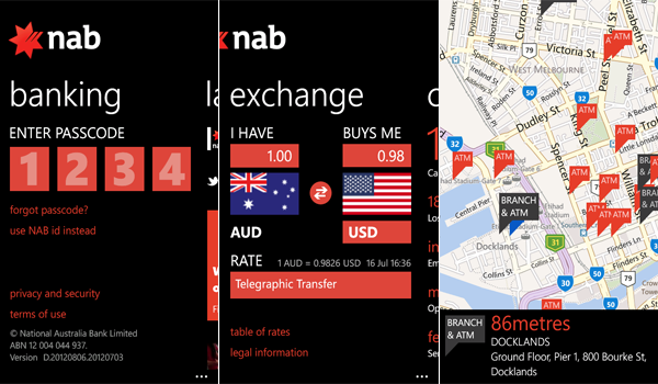 7 Banking on your Windows Phone in Australia
