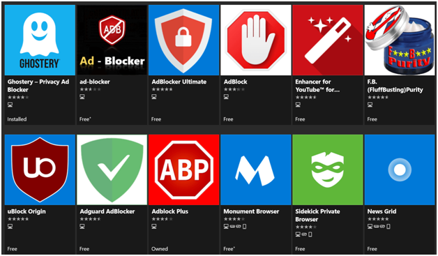 What are the best Ad Blockers for Microsoft Edge in 2020?