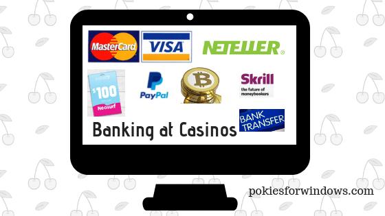 Banking at casinos
