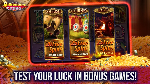 Pokies Games to play at Billionaire casino