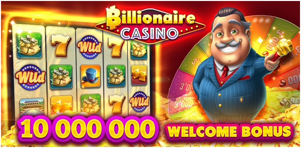 Get free chips and diamonds at Billionaire Casino