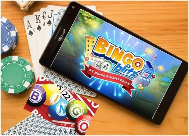 Bingo Blitz game app