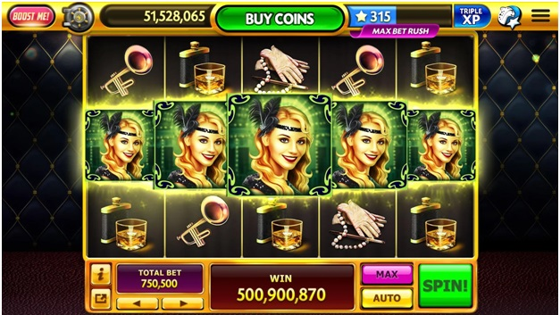 Get 100 free spins on FB games