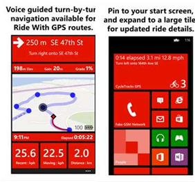 Cycle Track GPS App