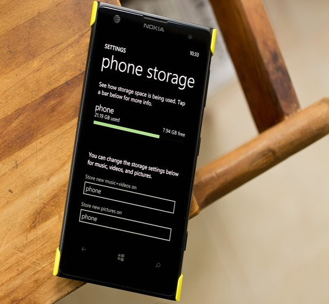 Ever-Increasing Storage
