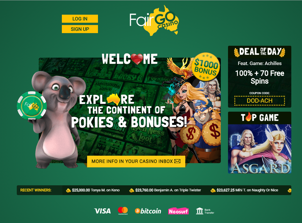 Fair Go Online Casino