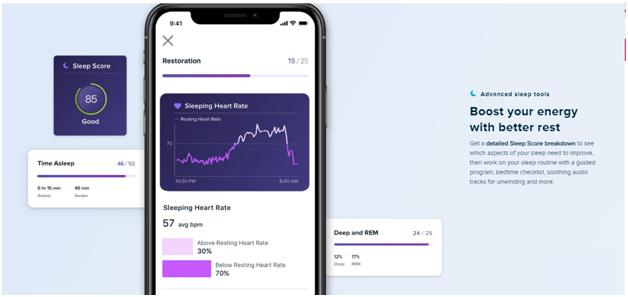 FitBit tracker app