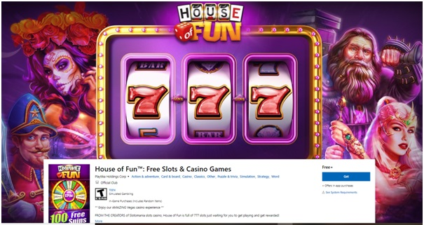 House of Fun Casino App for Windows
