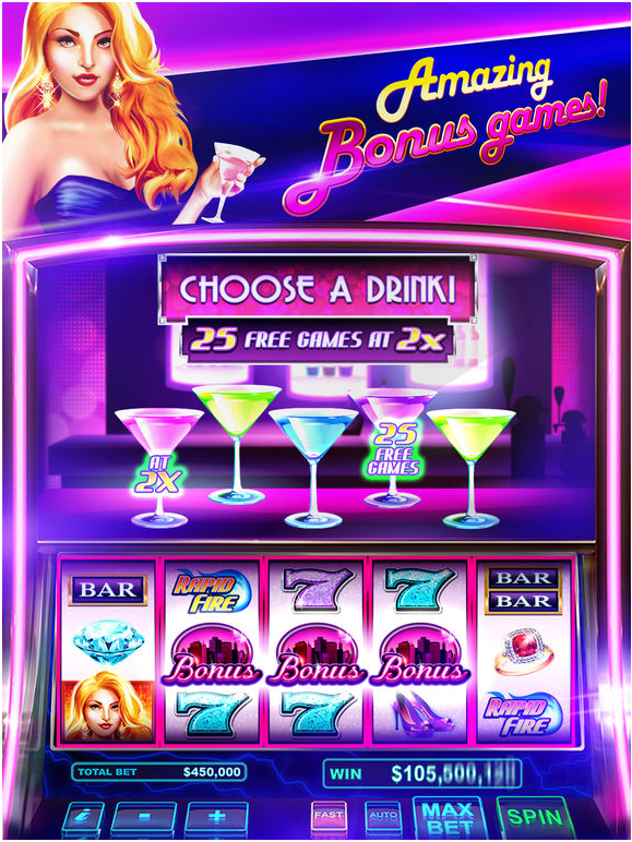 Features In The House Of Fun Casino App