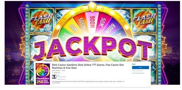 How to download Gambino Pokies Vegas Jackpots casino app on Windows 10