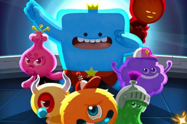 Line Cube Heroes