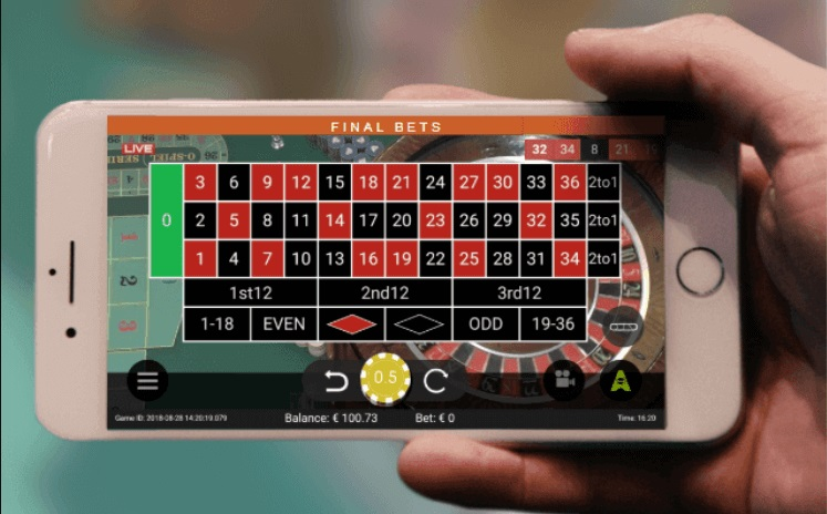 Live casino on mobile