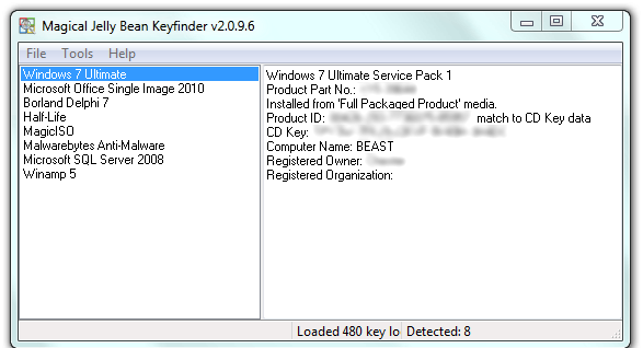 Reinstall windows with product key