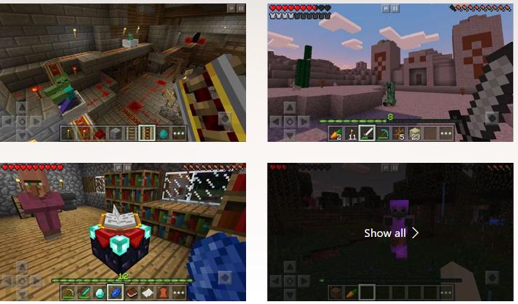 Minecraft game app