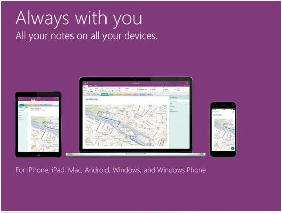 How is OneNote better than Apple's Notes App for note taking