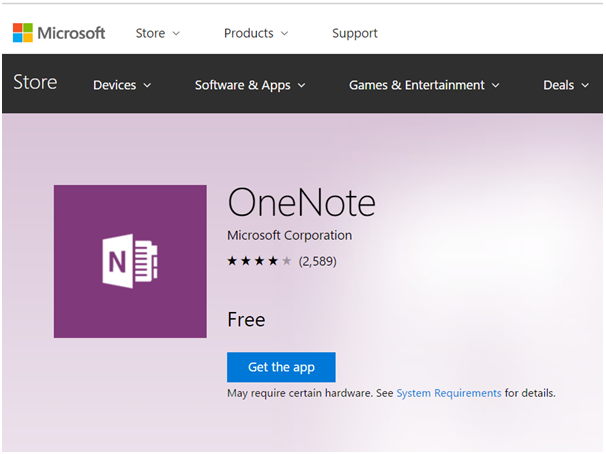 One Note App