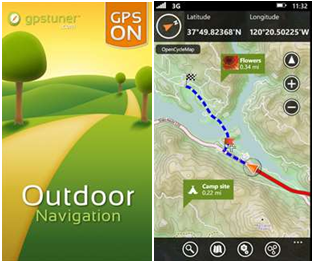 Outdoor Navigation App