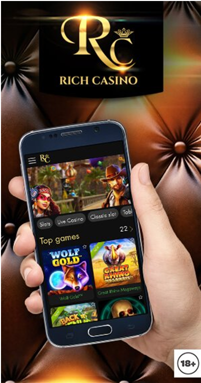 Rich casino app for players