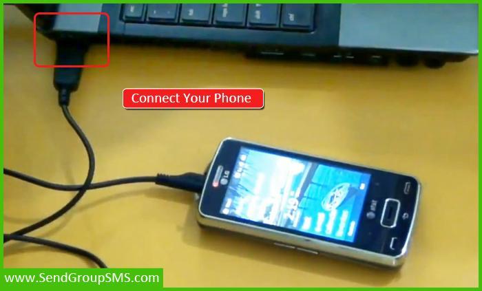 Send SMS Through Phone