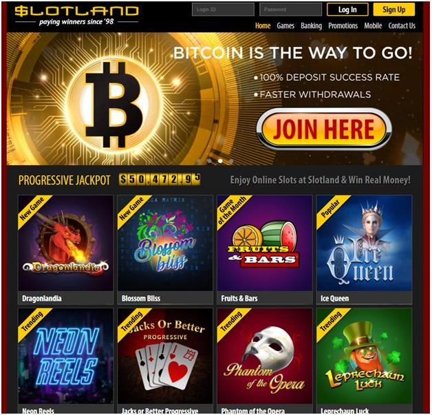 Slotland Casino Windows