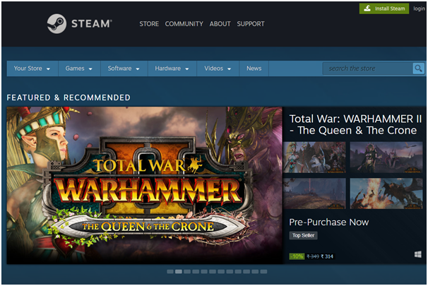 How to know the games released by Steam in future