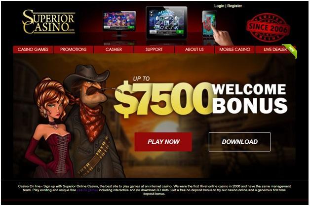 Superior Casino Instant or Download