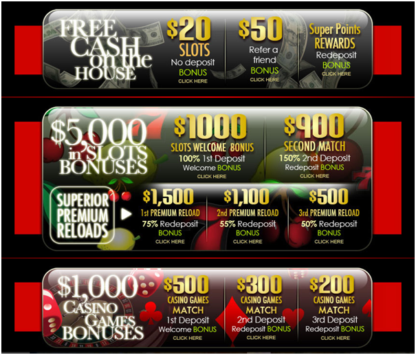 Superior casino promotions