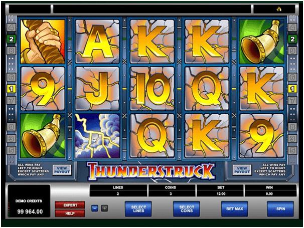 Thunderstruck pokies- Free spins