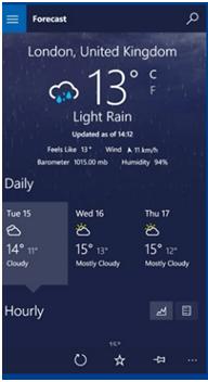 MSN Weather