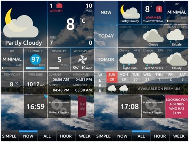 How to have the Best 4 Weather Apps for your Windows 10
