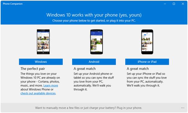 Windows Companion App