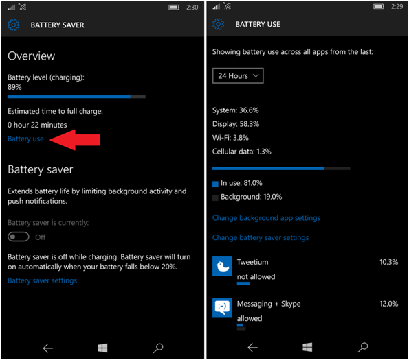 Windows Mobile Battery Saver