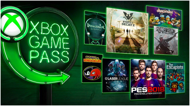 Xbox game pass subscriptions for Windows