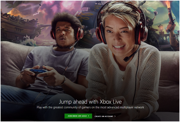 How to set up Xbox live profile