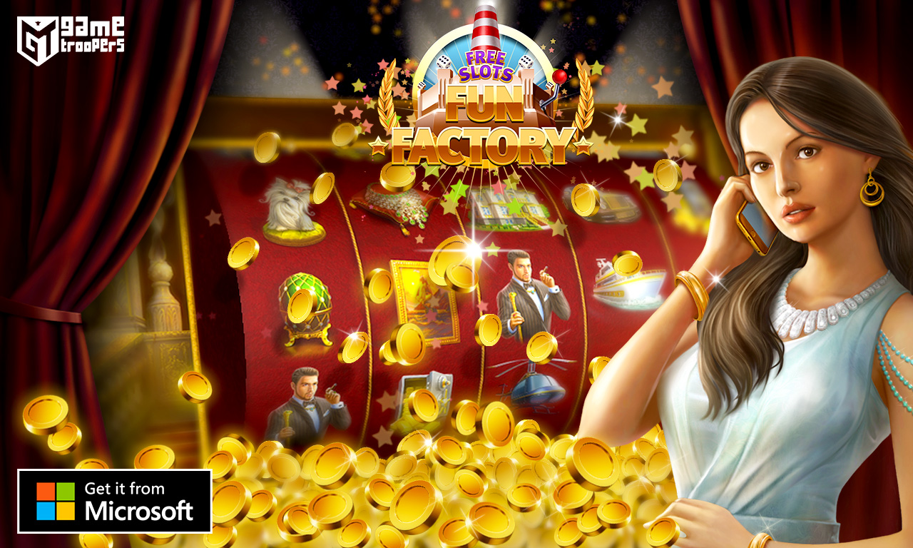 Free Slots Fun Factory Banner