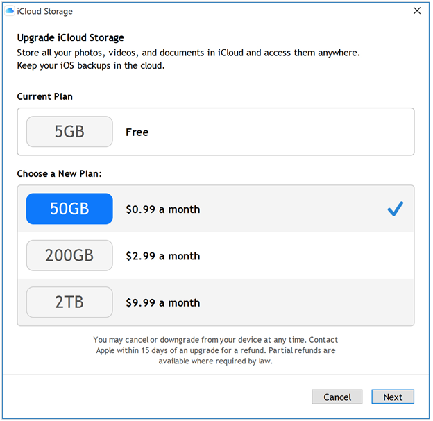 How to increase your iCloud Storage?
