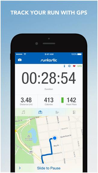 Runtrastic App