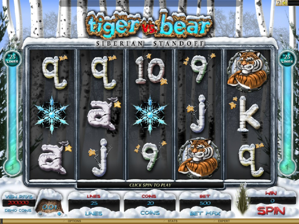 tiger vs bear pokies games